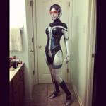EDI Mass Effect costume-test picture