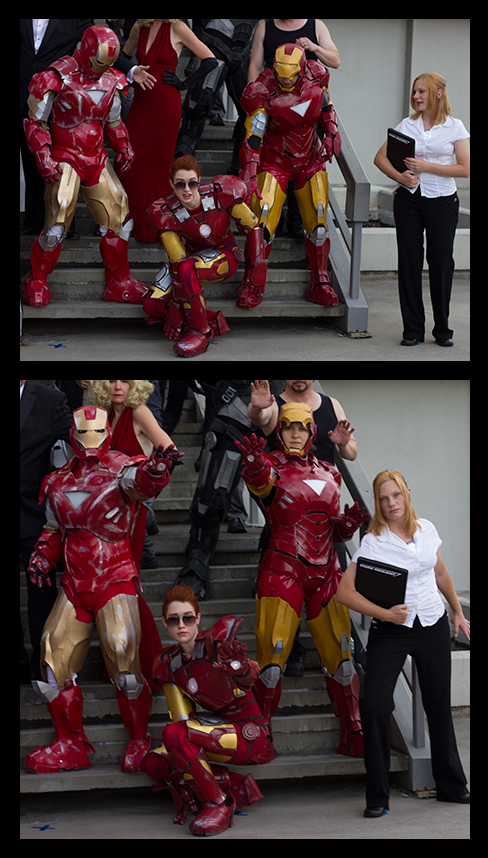 Starks at the D*C 2012 Marvel Photo Shoot by PaleFunnyGhost