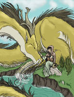 Dragon Entertainer Fin by krazykelli