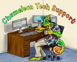 Chameleon Tech Support Fin