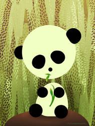 a panda by LisaGorska