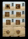 Elemental cube by LisaGorska