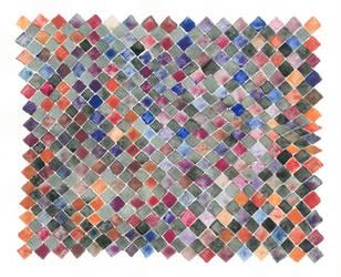freehand rhombic pattern by LisaGorska