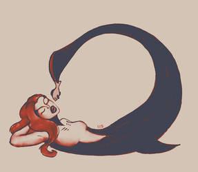 2020.04.19: Lazy Mermaid
