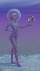 2020.04.26: Spacer woman