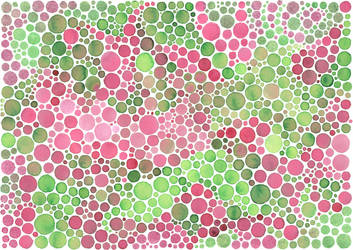 Texture: two-toned dots