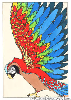 .:Red Parrot:.