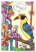 .:Great Hornbill:. by ko-Kitsune