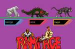 kaiju : Rampage sprite by kMIKEj