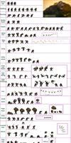 kaiju : Monsterverse Kong Sprite Sheet