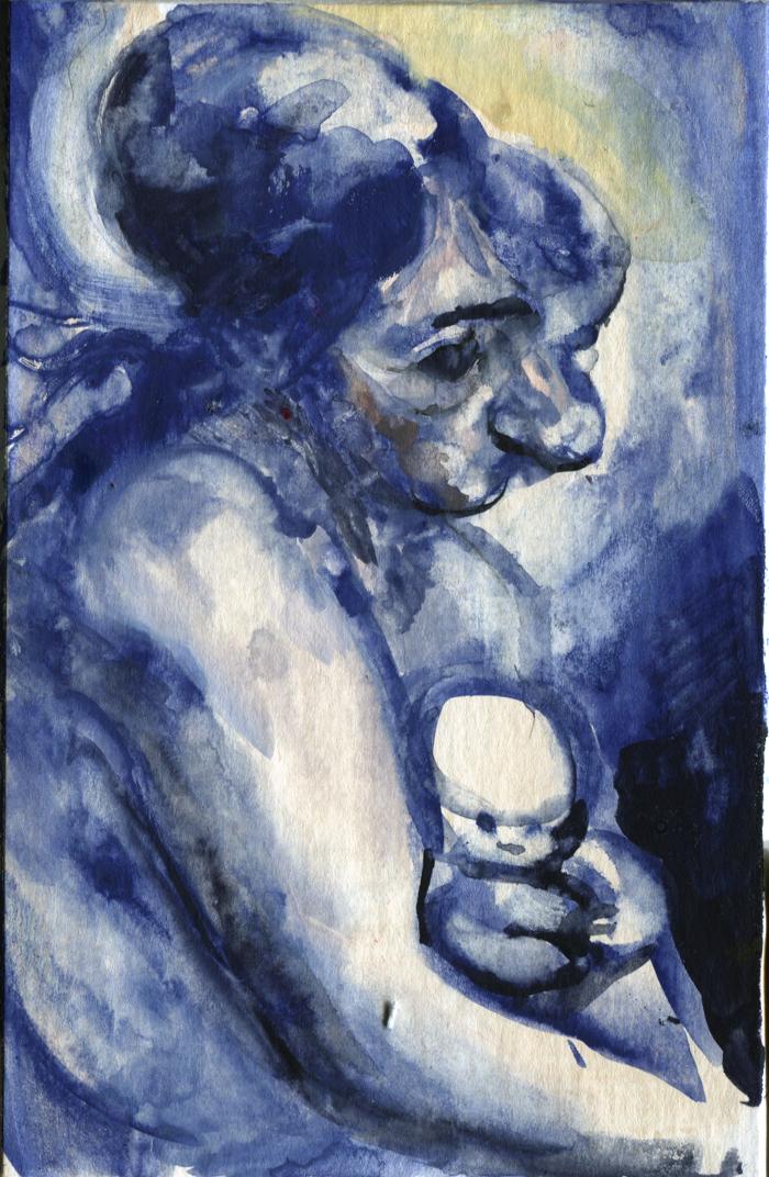 blue Mummybaby by ChloeC