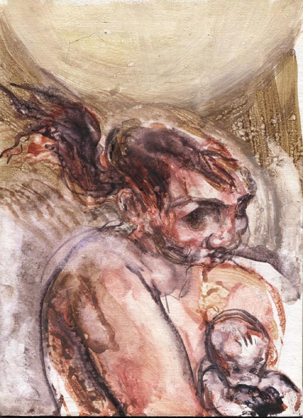 Fleshy Mummybaby by ChloeC