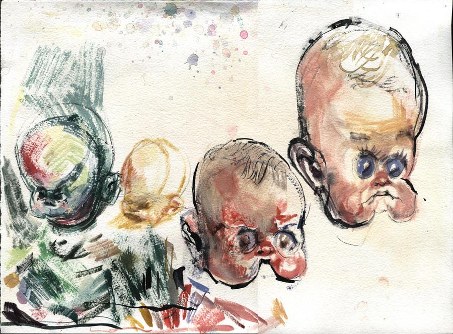 Babies in Flux by ChloeC