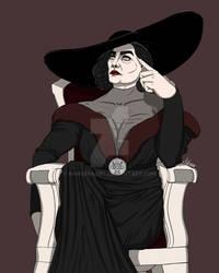 RE8 Lady D fashion 4