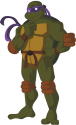 GIFT: Donatello by LilliTheFox