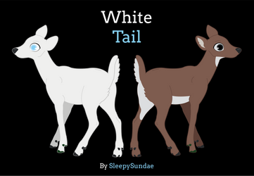 White Tail fanart by LilliTheFox
