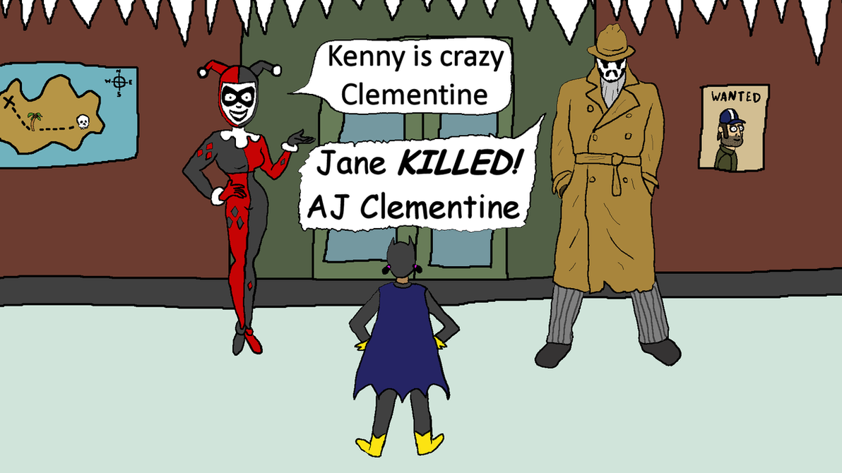 Comic Clementine by thestalkinghead