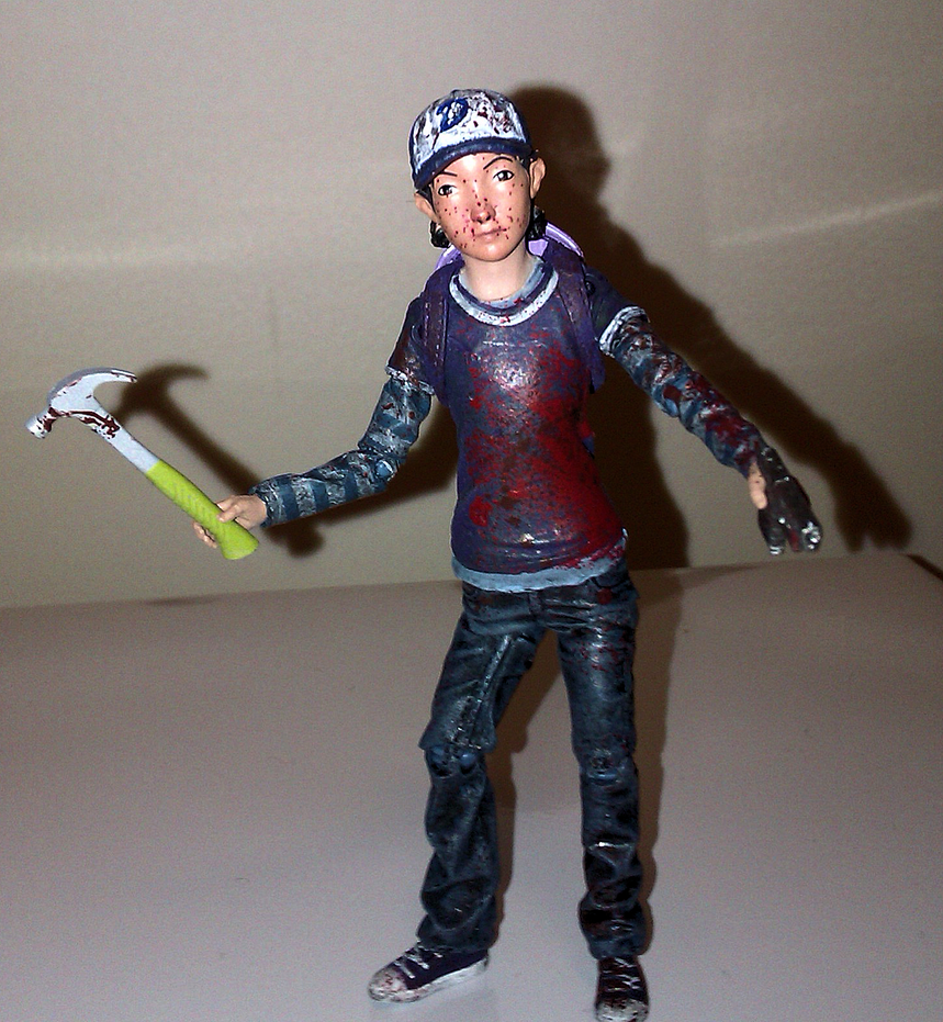 Clementine action figure by thestalkinghead