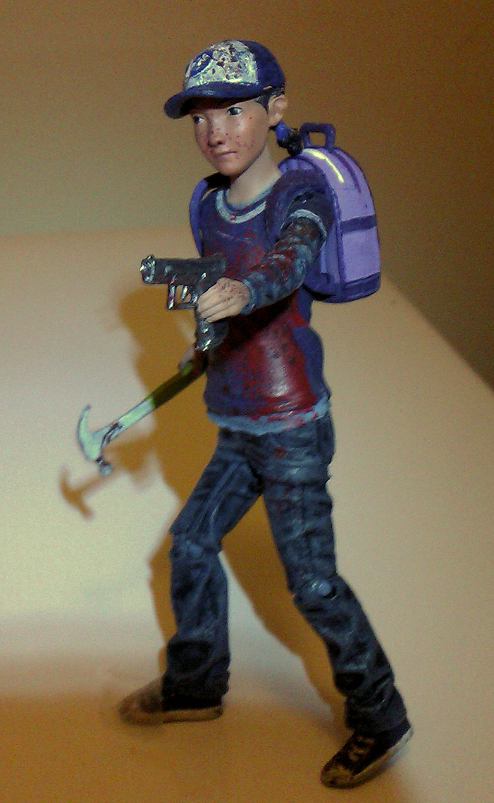 Clementine action figure 2 by thestalkinghead