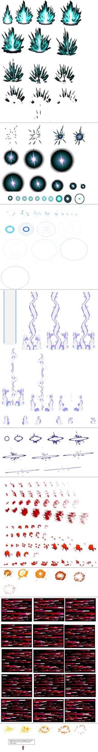 Ultimate Effects Sheet 2 by Xypter