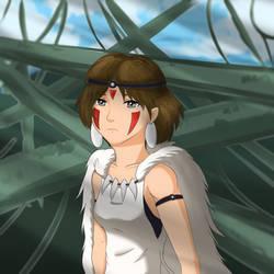 57/365 Princess Mononoke by Xypter