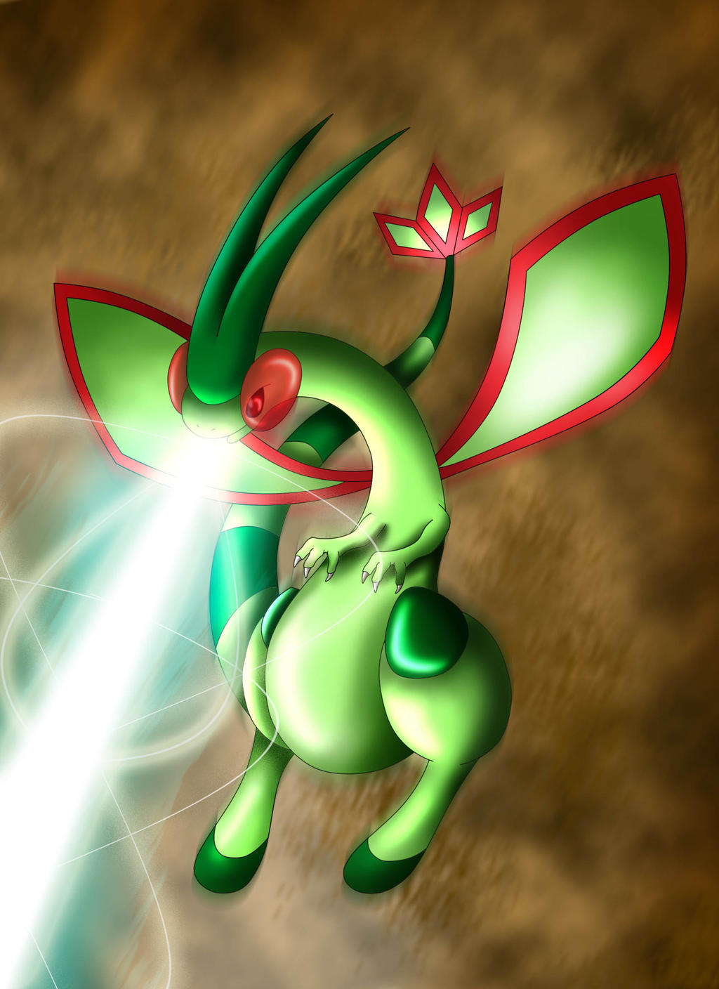 Flygon - The Desert King by SonARTic