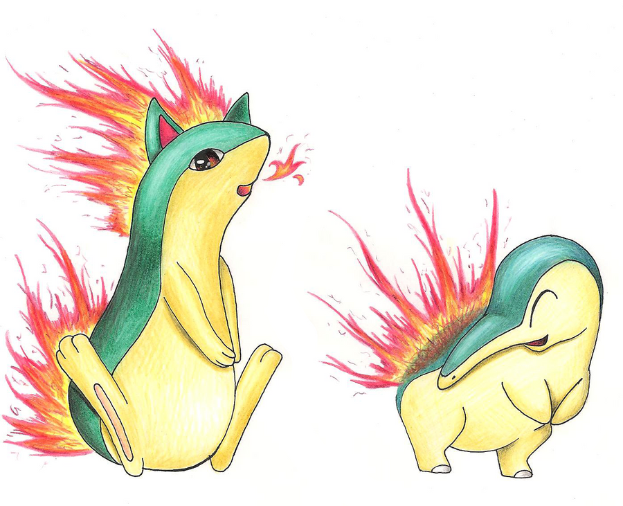 cyndaquil typhlosion quilava - photo #22