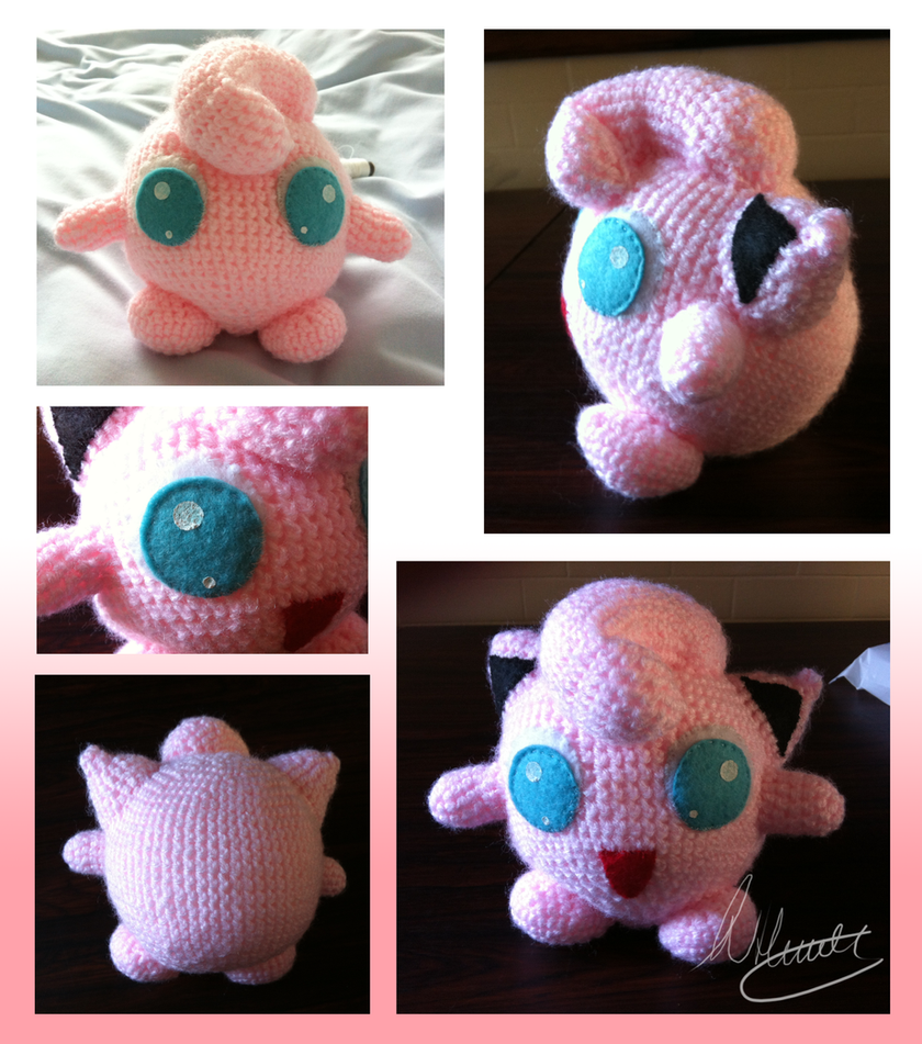 Amigurumi Orca Pattern Free : Jigglypuff Crochet by SonARTic on deviantART