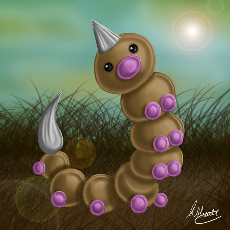 Weedle Speedpaint by SonARTic