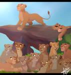 Sarabi's Lionesses