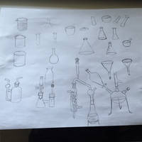 Drawing Practice Chemistry Ware 1
