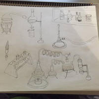 Drawing Practice Chemistry Ware 2
