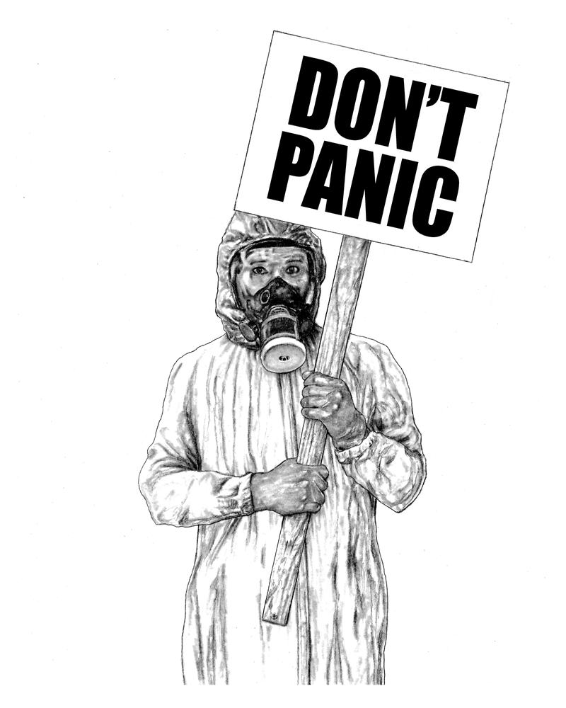 Don't Panic by walterdoe