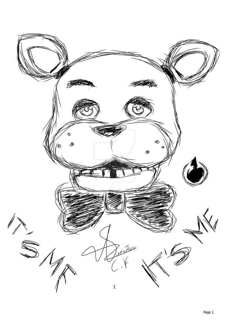 Freddy  -  Five Nights at Freddy's by SamyHatsune01