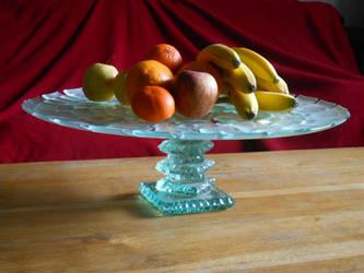 Cake platter by reflet-de-lyly
