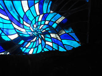 Spiral of blue by reflet-de-lyly