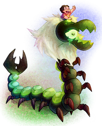 Mother Centipeetle by Analostan