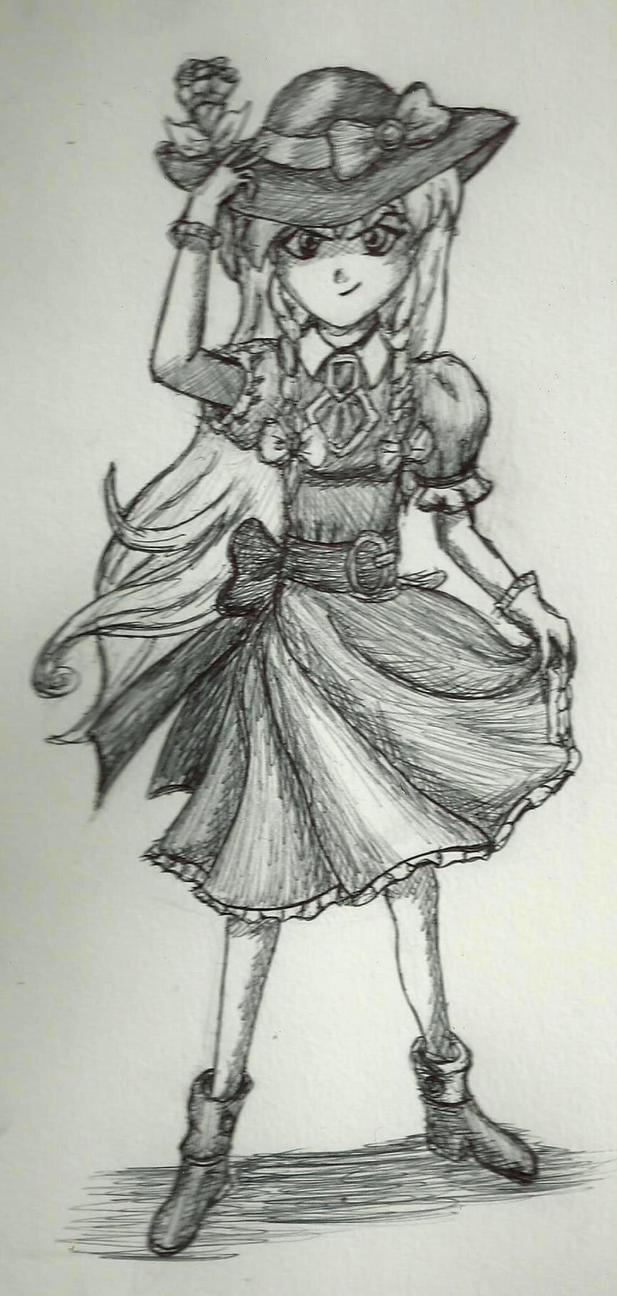 Maria Renard - Castlevania Rondo of Blood by TalentlessHacked