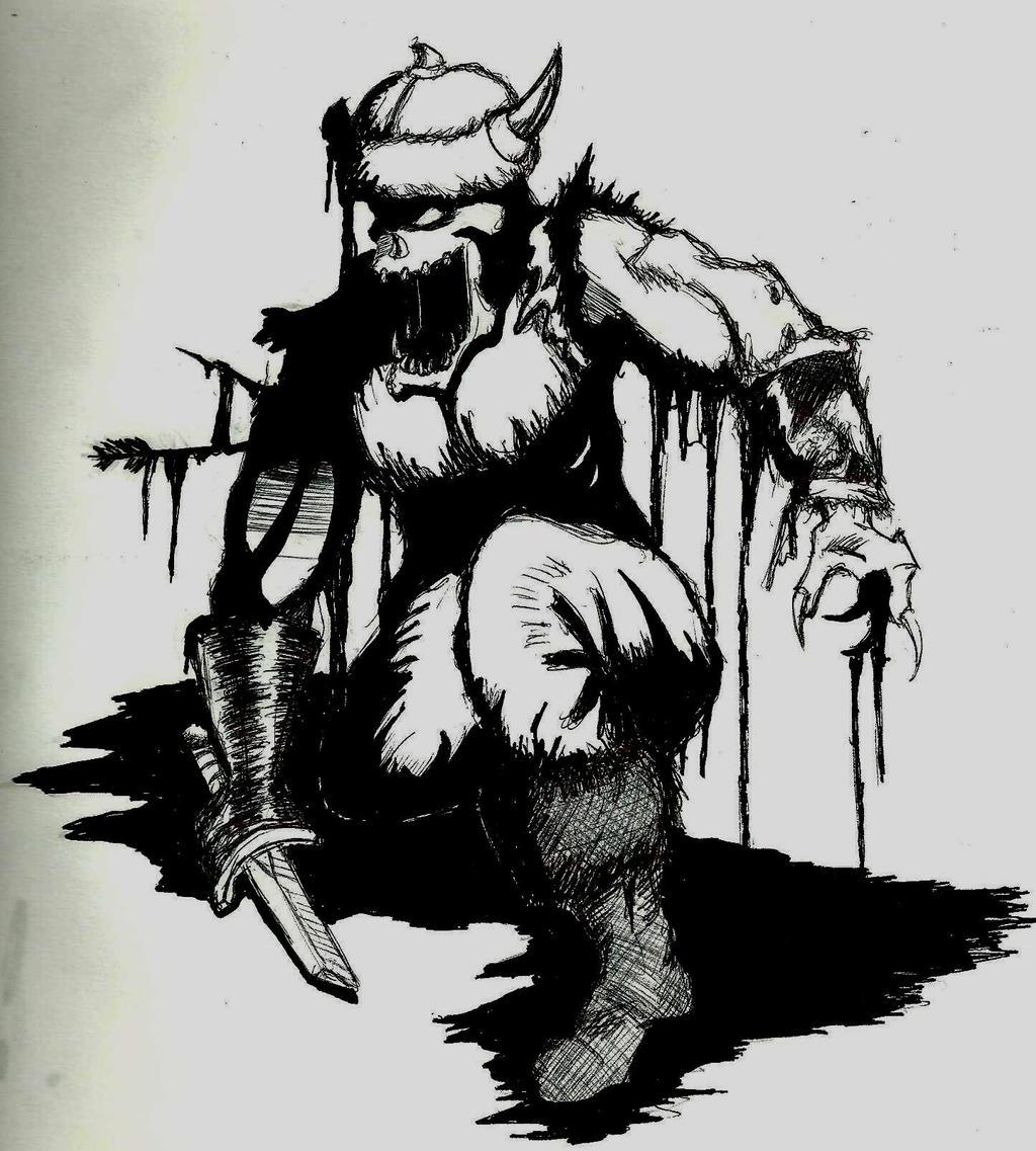 Zombie Orc Warcraft 1 By Talentlesshacked On Deviantart