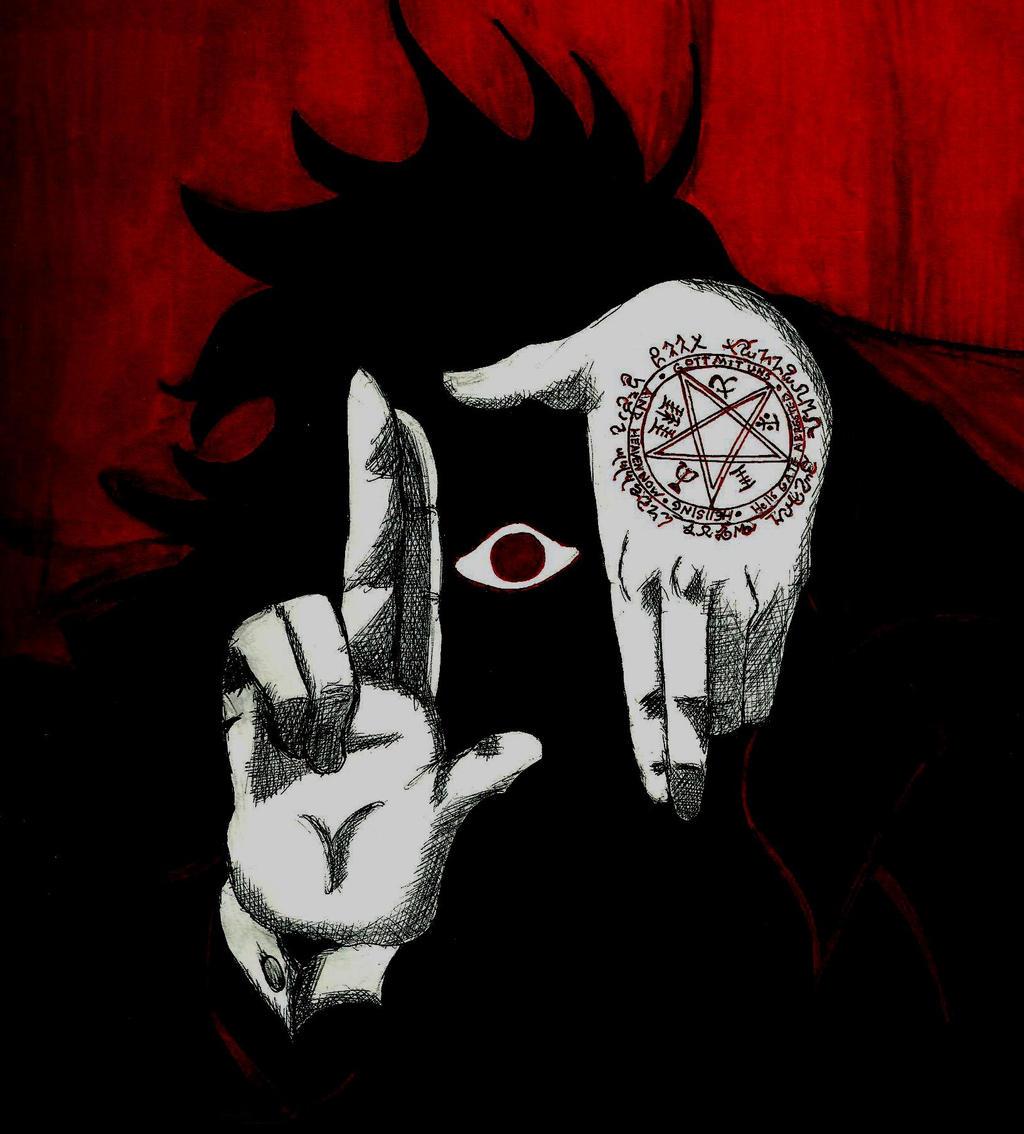 Alucard - Eye - Hellsing by TalentlessHacked on DeviantArt Alucard Eyes