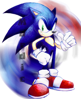 FIXED Sonic Colourful Pen Work