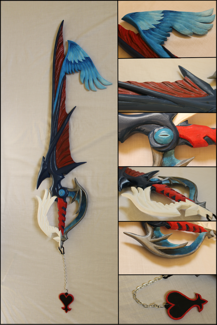 Way To The Dawn Keyblade by Sephiroths-Shadow