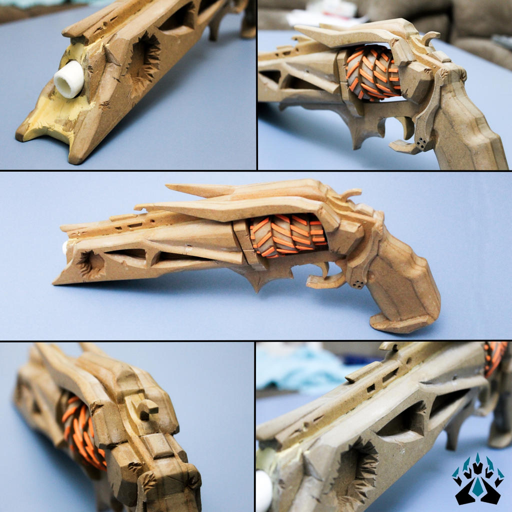 Destiny Thorn Handcannon (Unpainted) by Bayr-Arms