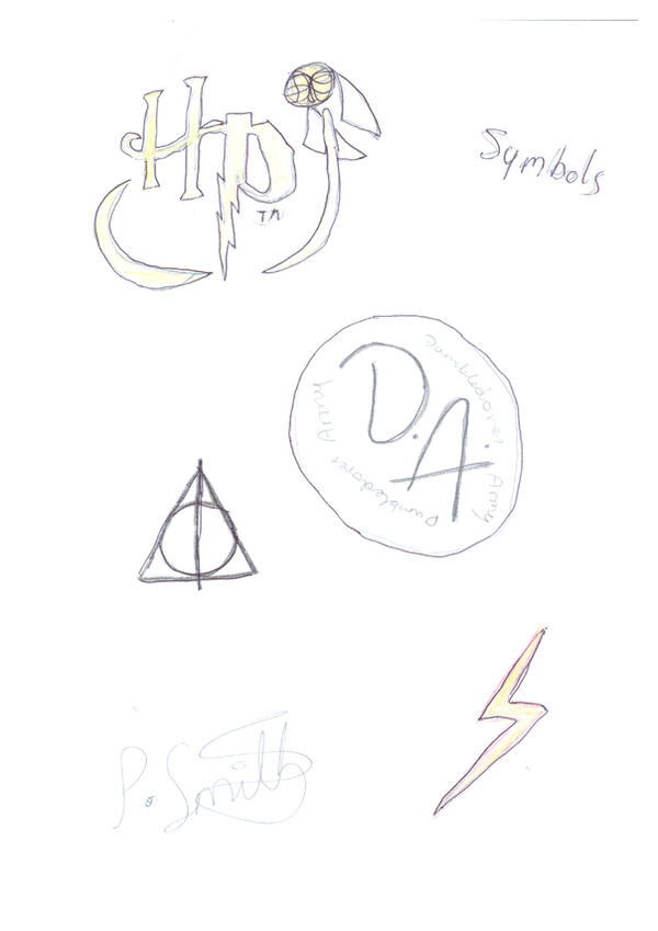 Harry Potter Symbols By Harry Potter Addict On Deviantart