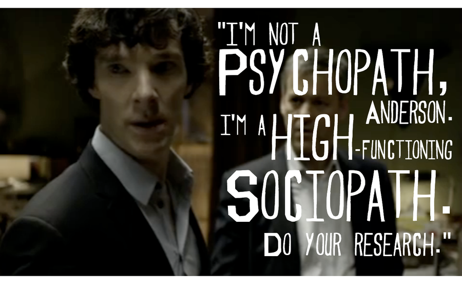 High functioning sociopaths