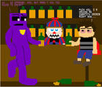 Meanwhile, at the bar... (FNaF Comic)