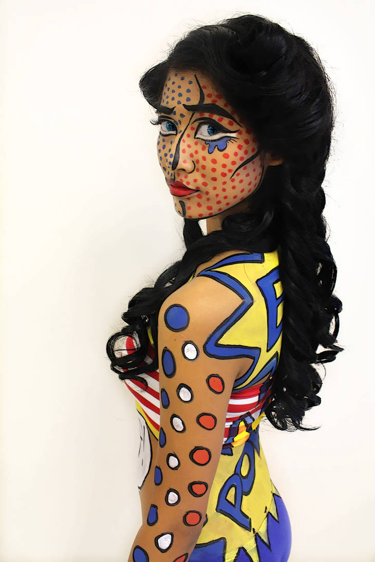 Pop Art Bodypaint By Lolliliciousmua On Deviantart