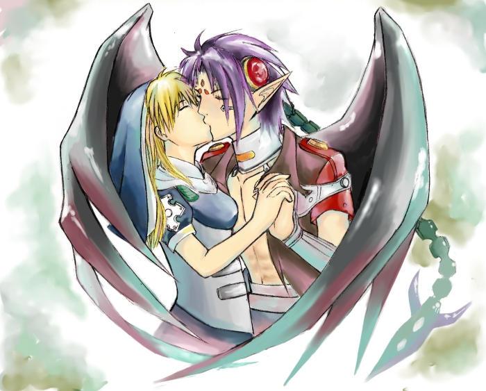 Chrono Crusade Rosette And Chrono Kiss