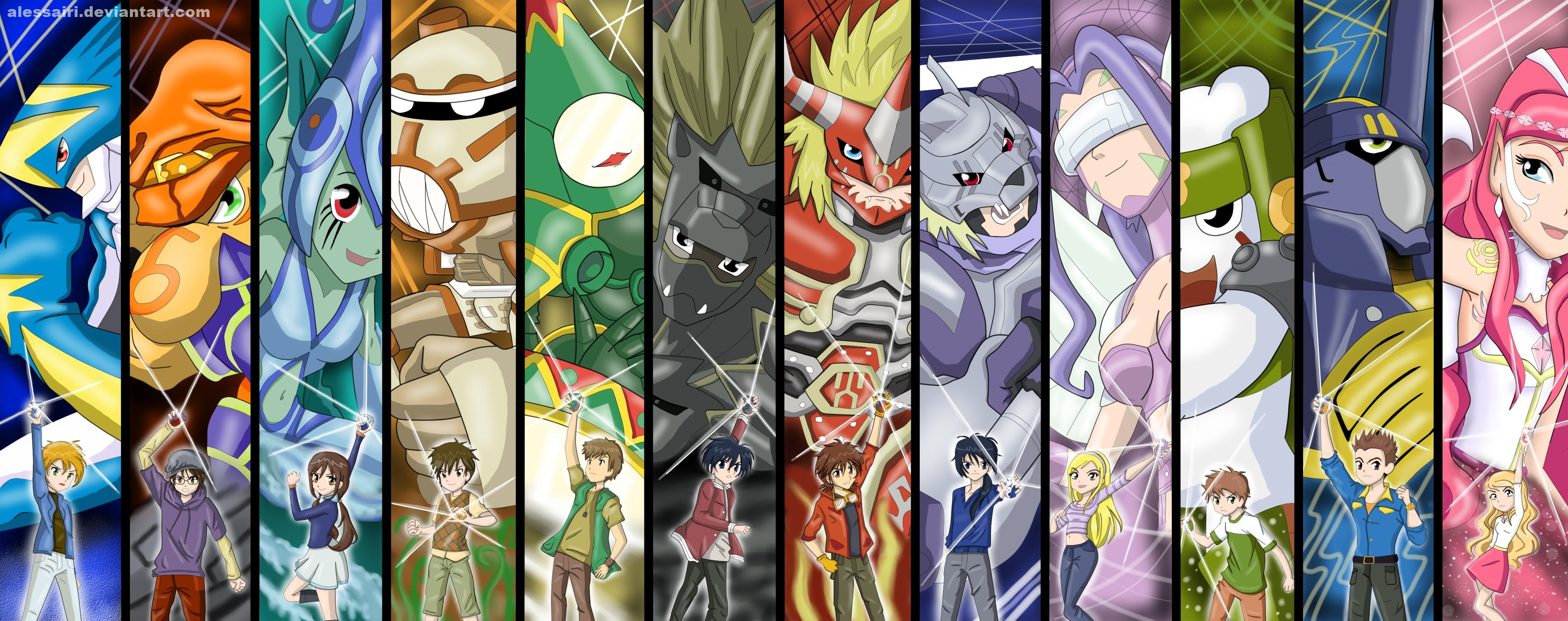 Digimon Evolution Chart - Shadowlord Inc.