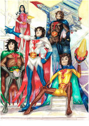 Gatchaman by SPITEREDESCENT